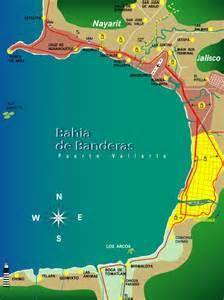 banderas map best of bucerias about bucerias mexico
