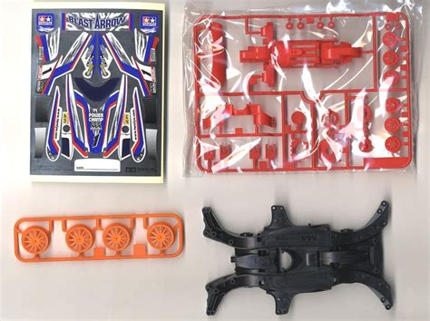 Tamiya Starter Pack Ma Power Spec mini 4wd starter pack ma power spec blast arrow hobby