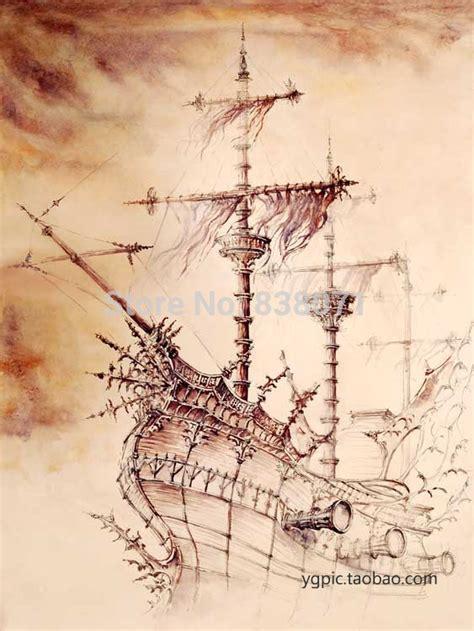 Poster 18 Sdm18 Kayu Vintage Asli Dinding Rumah Kafe buy grosir bajak laut kanvas from china bajak laut kanvas penjual aliexpress