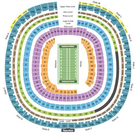 estadio azteca detailed stadium seating buccaneers tickets ta bay buccaneers tickets