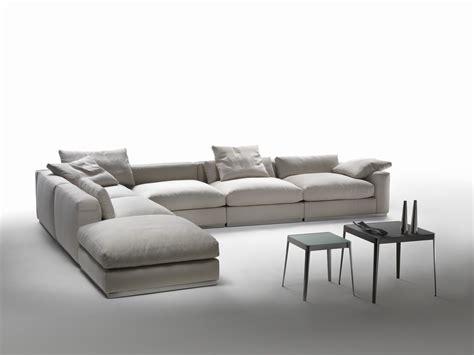 divani citterio divano angolare componibile in tessuto collezione
