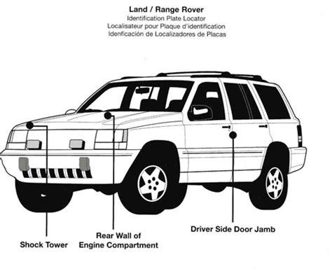 land range rover automotive paint codes
