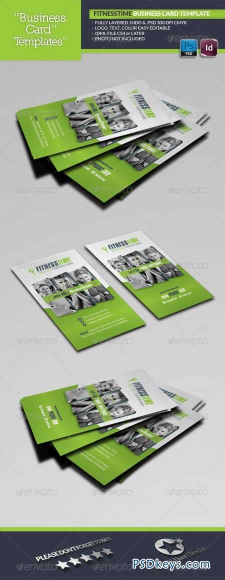 fitness time business card template 5729633 187 free