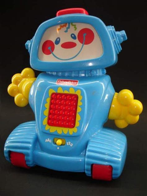 fisher price robot learn a bot teaching robot by fisher price the