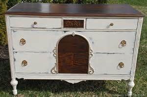 White Refinished Dresser by Refinished Dresser Uniquely Yours Or Mine