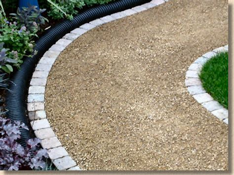 best paving stones edging with gravel path edging garden