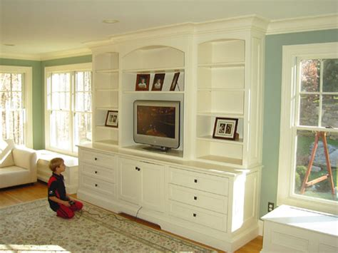 built in wall unit flourish design style built ins