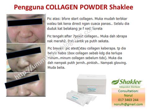 Seri Cantik Collagen Drink cantik menawan dan berseri di hari perkahwinan dengan shaklee collagen powder ummi tiqah