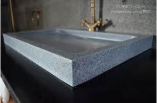 27 quot gray granite bathroom sink corsica