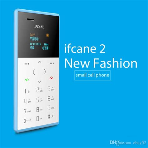 Ifcane E1 Card Phone Ultra Thin best new style small size ifcane e1 card phone mini mobile