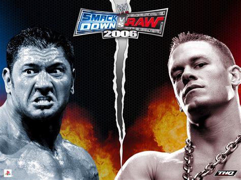emuparadise wwe wwe smackdown vs raw 2006 usa iso
