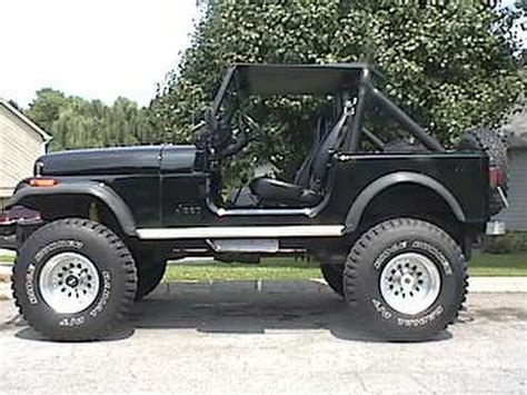 Jeep Cj7 Wheels And Tires Dpatter 1983 Jeep Cj7 Specs Photos Modification Info At