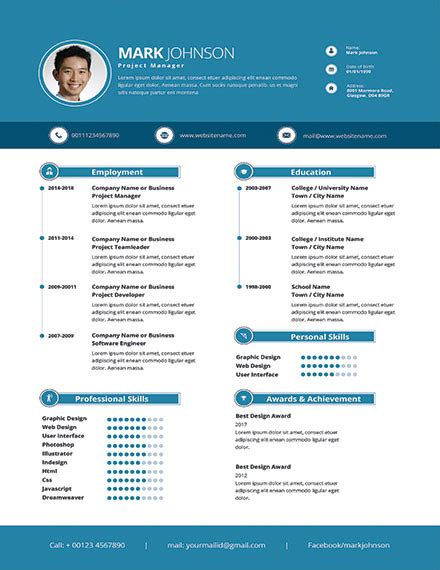 18375 project management resume modern 46 modern resume templates pdf doc psd free