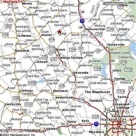 a m college station cus map goto college station