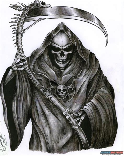 grim reaper tattoo design deadliest warrior deathmatch dante alighieri vs alex