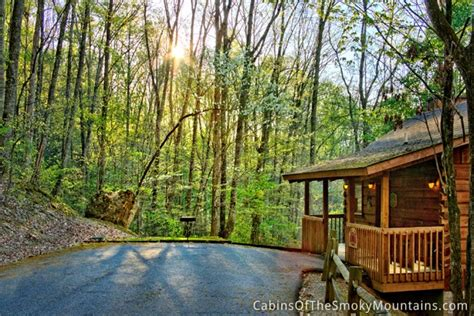 Secret Cabin by Pigeon Forge Cabin Secret Seclusion 1 Bedroom Sleeps
