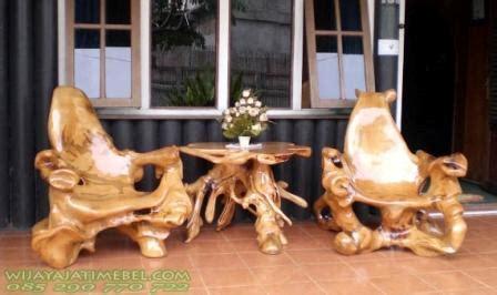 Meja Akar Kayu Jati kursi teras model akar pohon jati jual wijaya jati mebel