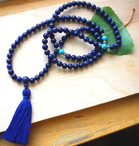 mala prayer lapis lazuli mala prayer designs