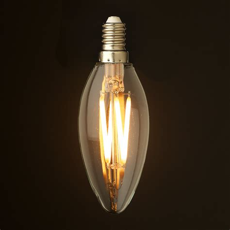 led birnen e14 4 watt dimmable filament led e14 candle bulb