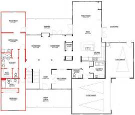 in suite garage floor plan pin by ilya p on in law suite plans pinterest