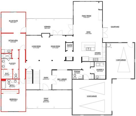 in law apartment addition plans pin by ilya p on in law suite plans pinterest
