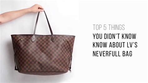 Vuitton And Not Just The Bags This Time by Top 5 Things You Didn T About Lv S Neverfull Bag