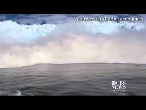 boat crash caught on tape caught on tape iceberg tsunami crashes into boat youtube