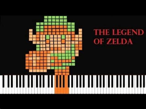 theme song quotev legend of zelda theme piano edition tutorial youtube