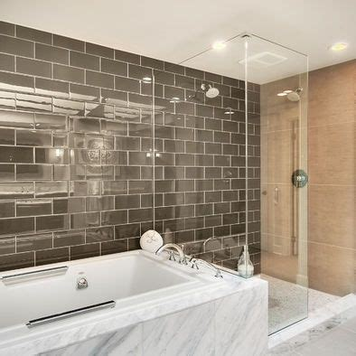 2 favorite types of subway tile bathroom master bathroom