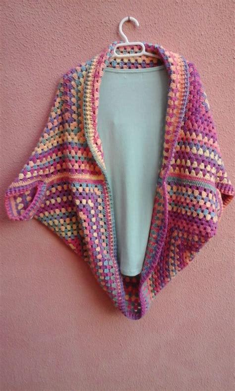 patrones de ruanas a crochet las 25 mejores ideas sobre chaqueta de punto en pinterest