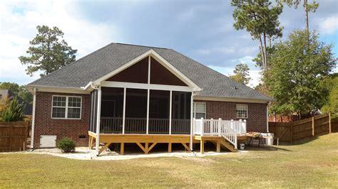 porch and patio central sc deck designs custom decks porches patios