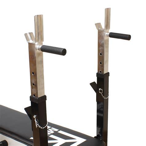 dip bench mirafit adjustable folding flat weight bench dip station
