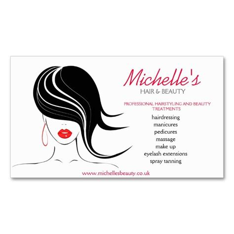 hair salon business cards templates free business cards a collection of ideas to try about