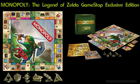 legend of zelda monopoly map video game promos video game obsession c 1996 present