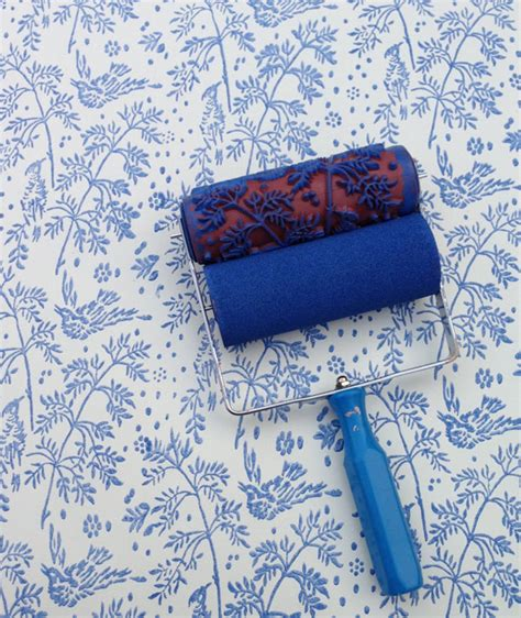patterned paint roller 301 moved permanently