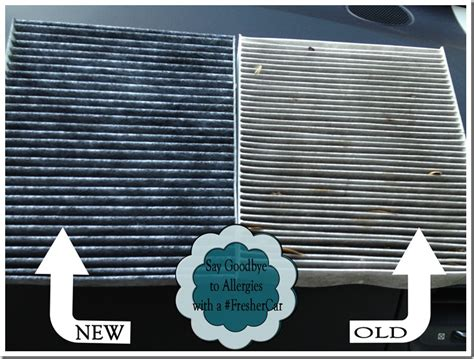Cabin Filter Vs Air Filter by Say Goodbye To Allergies With A Freshercar Filter 2