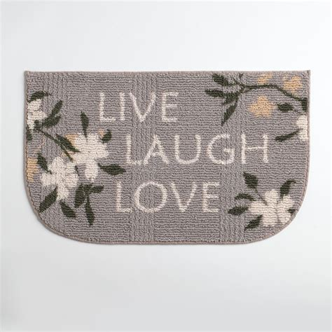 Kitchen Rugs At Kmart Essential Home Live Laugh Kitchen Rug Home Home