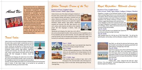 Image Gallery india travel brochure