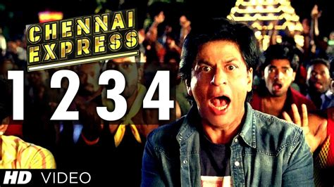 film china express song quot one two three four chennai express quot song shahrukh khan