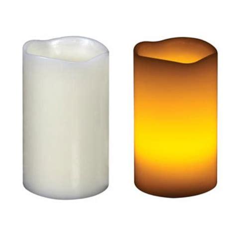 candela a led candela di cera a led