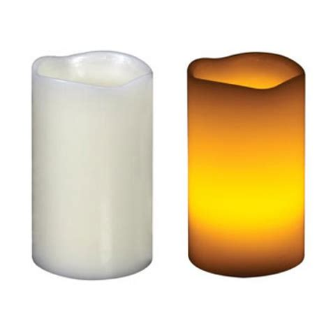 candela led candela di cera a led