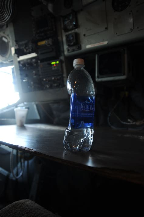 Kan Air 2 1lt K 3 Water Jug 2 1 Lt K 3 File A Water Bottle Contracts Inside A U S Air Kc 135 Stratotanker Aircraft During A