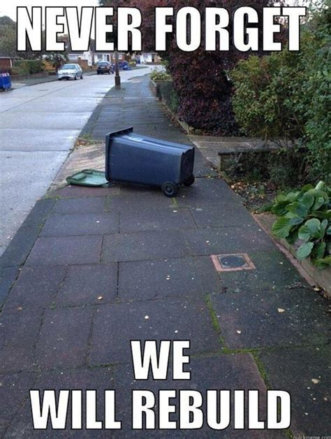 We Will Rebuild Meme - earthquake measuring 4 2 on the richter scale wakes up