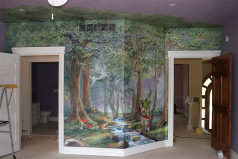 enchanted forest bedroom murals enchanted forest
