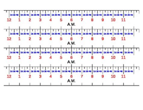 printable number line 0 60 student number lines for elapsed time by math wiz
