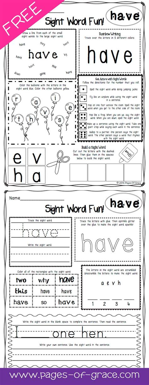 teach your 100 words best 25 sight word worksheets ideas on sight