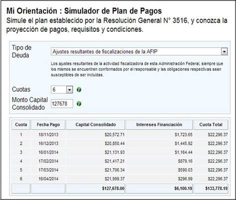 Gua Para Liquidar Arbanet De Ingresos Brutos Econoblog | nuevo simulador para planes de pago vigentes de la afip