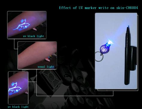 invisible ink black light ch6004 uv pen invisible ink in it make secret message on