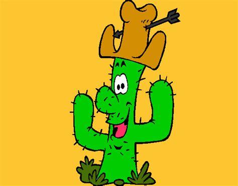 dibujo de cactus con sombrero para colorear dibujo de cactus con sombrero para colorear dibujo de