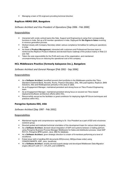 resume of software architect 28 images senior software engineer resume sles visualcv resume